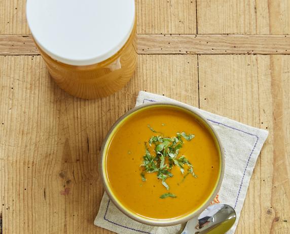 32oz Raw Carrot Soup