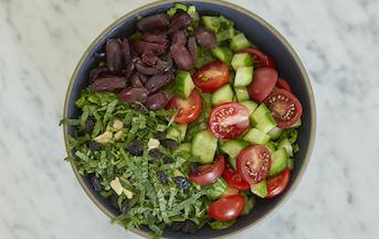 Mediterranean Herb Salad