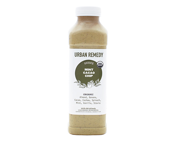 Urban Remedy Mint Cacao Chip Shake