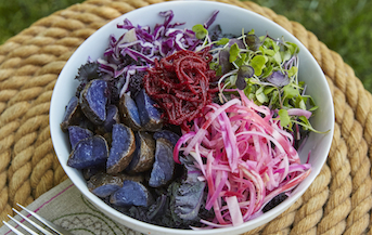 Purple Ginger Beet Salad