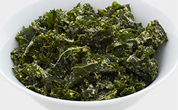 Sour Cream & Chive Kale Chips