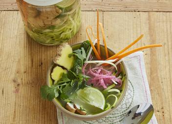 Veggie Pho Soup